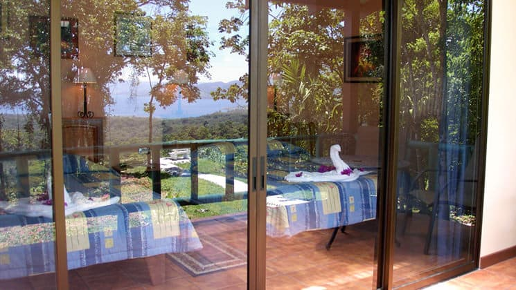 Standard Room Patio at Arenal Observatory Lodge