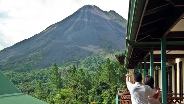 Standard Room View at Arenal Observatory Lodge