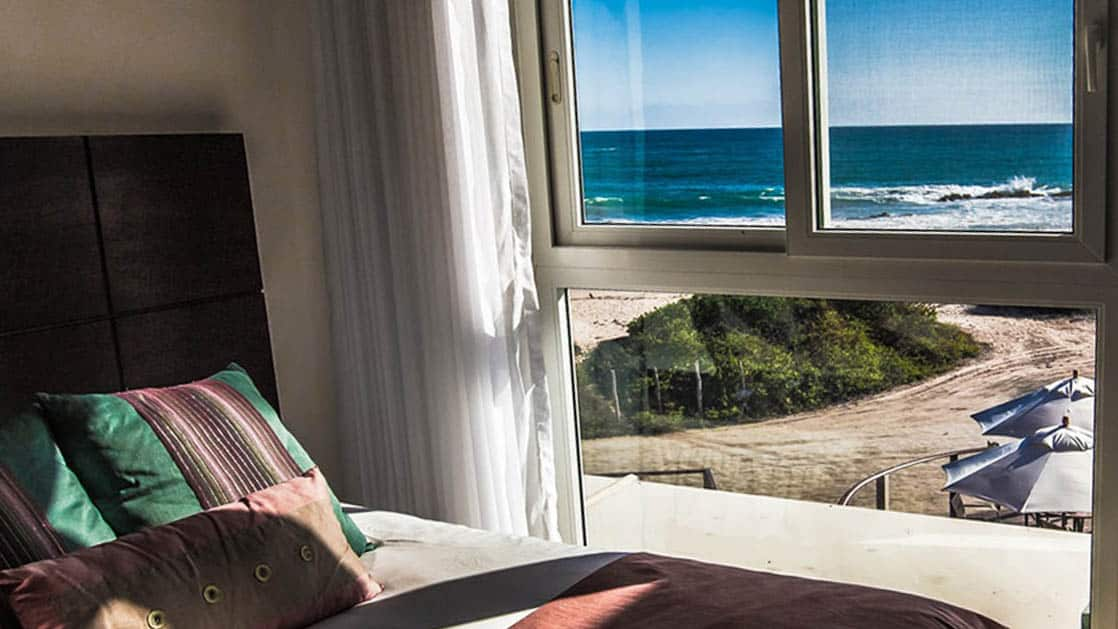 Ocean View Room at Iguana Crossing Boutique Hotel
