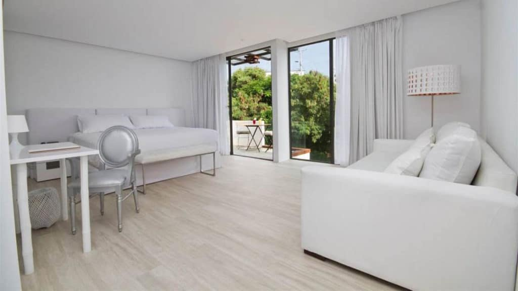 Double Room with Balcony at Golden Bay Hotel & Spa