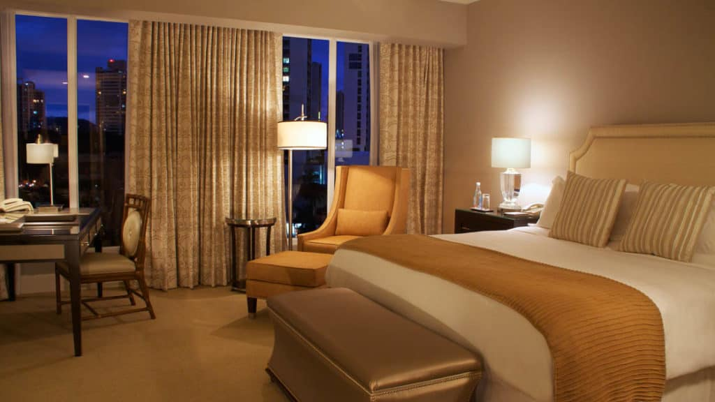 Tower Executive Room with king bed at Bristol Panama Hotel