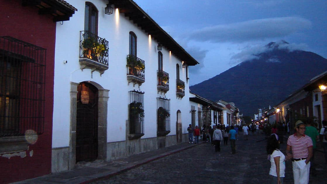 On a street in the colonial setting of Antigua, Hotel Posada Don Rodrigo is an authentic 315-year-old property, renovated to a first class hotel.