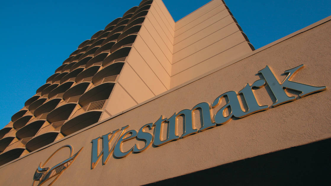 The exterior facade of the the Westmark Anchorage, a downtown hotel that was recently renovated