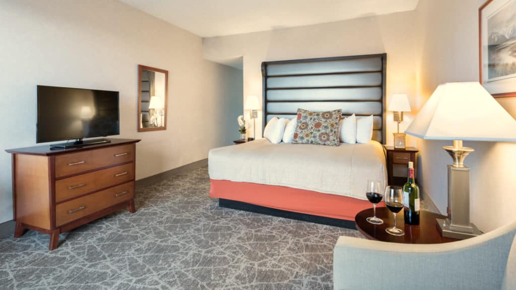 Standard with king bed at Westmark Anchorage. Photo by: Derek Reeves