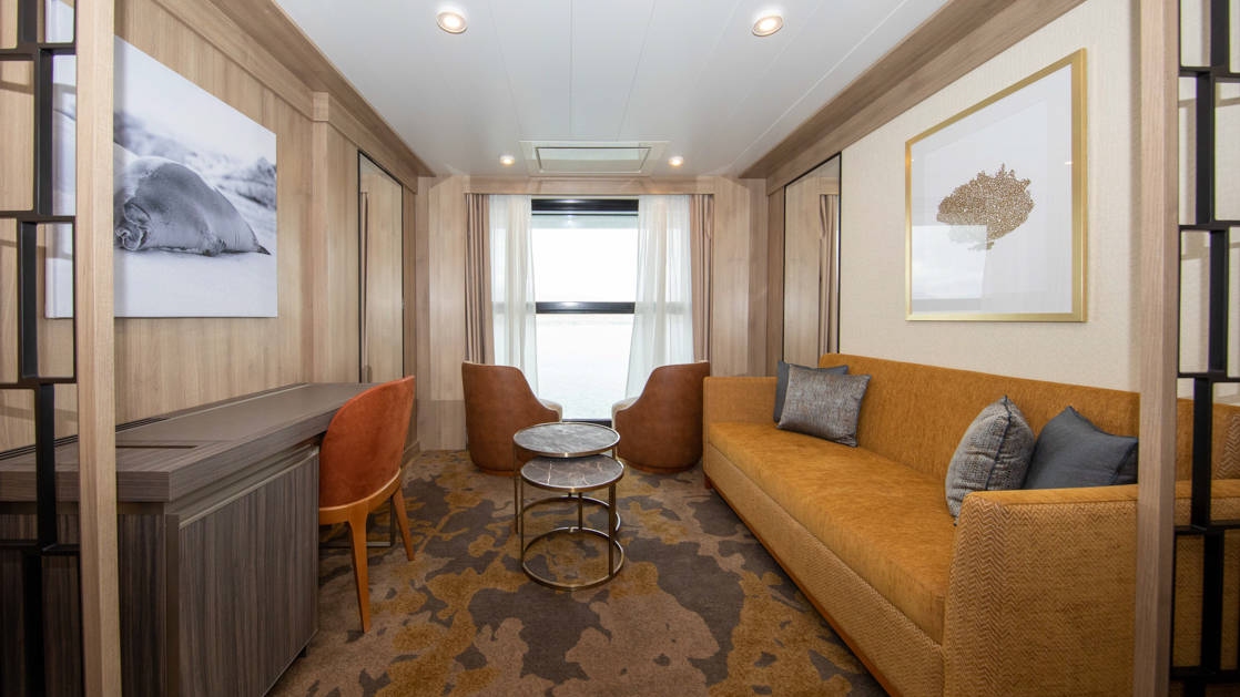 Infinity Suite aboard World Explorer. Photo by: Quark Expeditions