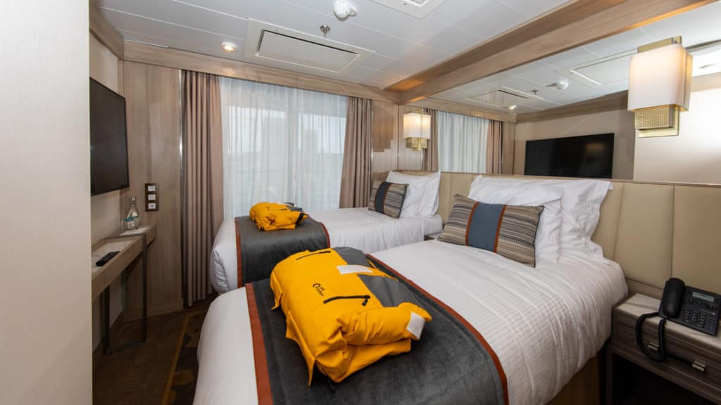 Triple Suite aboard World Explorer. Photo by: Quark Expeditions
