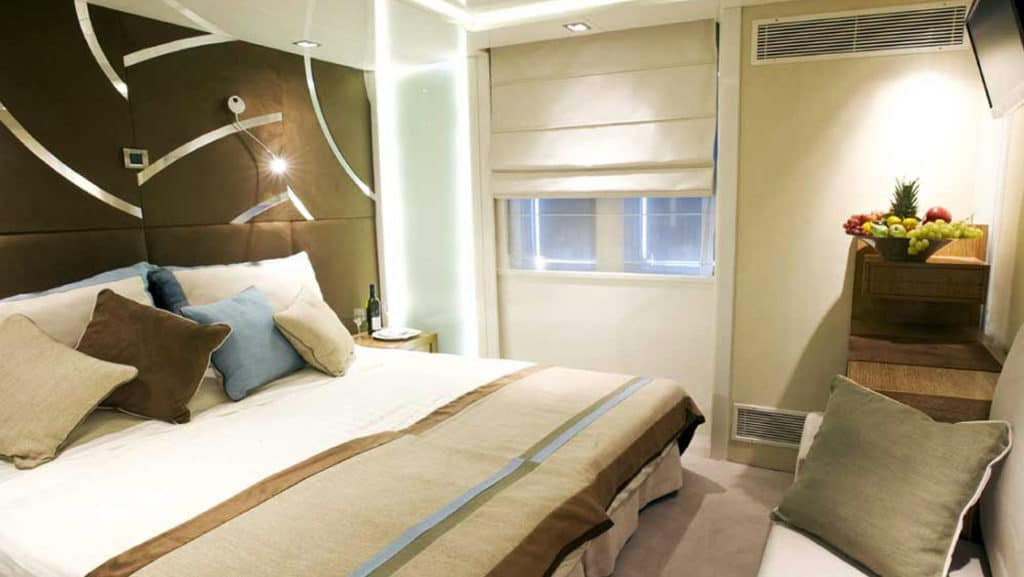 Category A cabin aboard Variety Voyager.