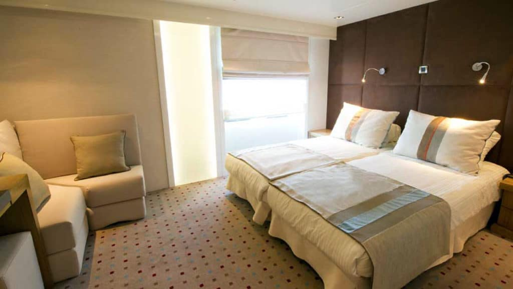 Category P cabin aboard Variety Voyager.