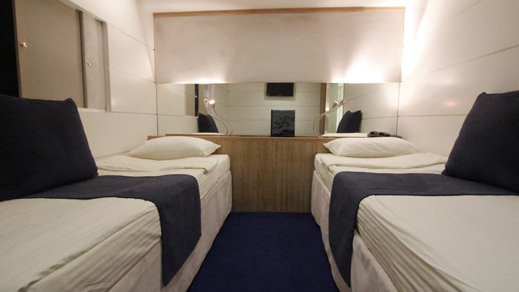 Category P cabin aboard Harmony G