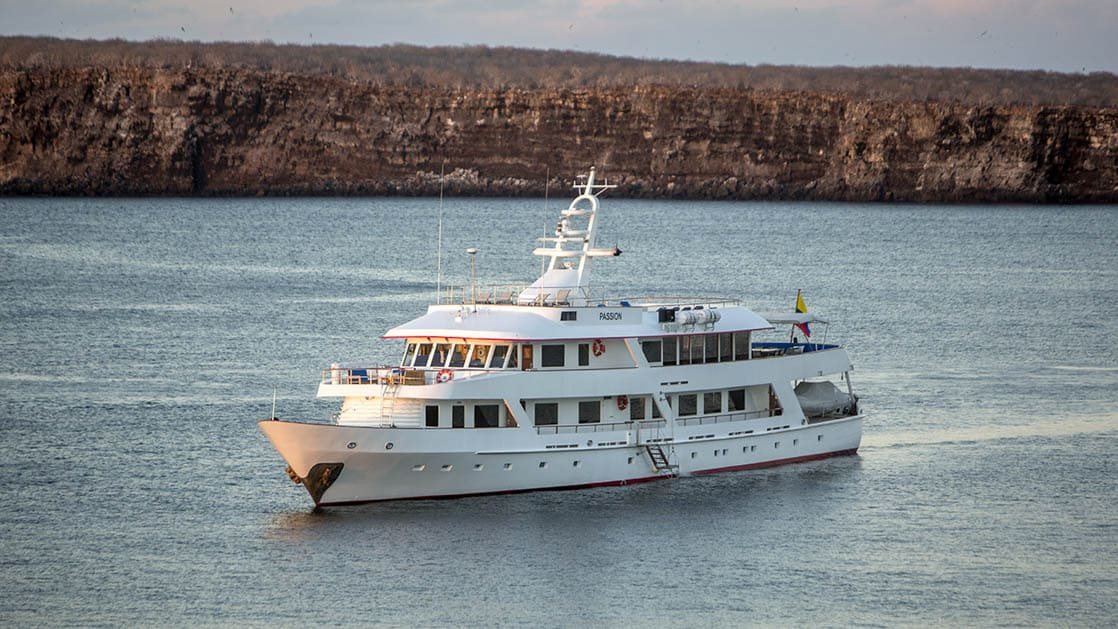 WildAid's Passion cruising in the Galapagos.