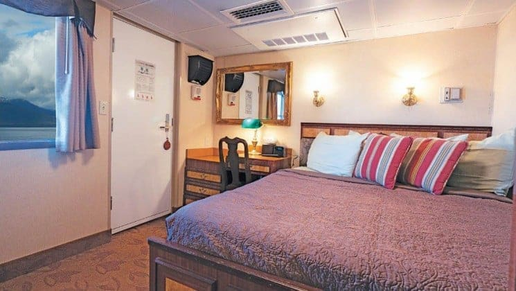 Captain Stateroom aboard Wilderness Legacy