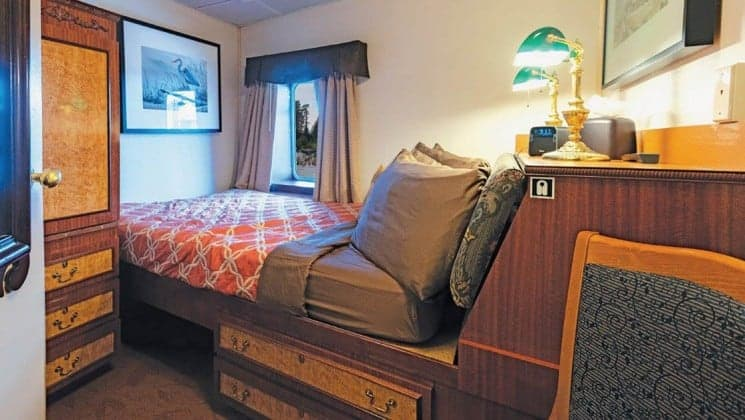 Master Stateroom aboard Wilderness Legacy