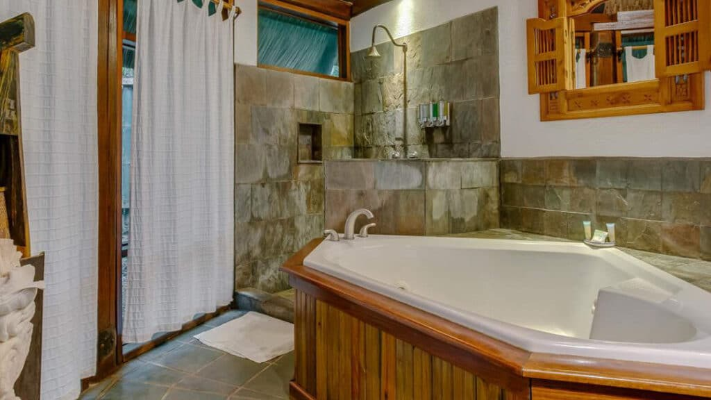 Garden Jacuzzi Suite at the Lodge at Chaa Creek