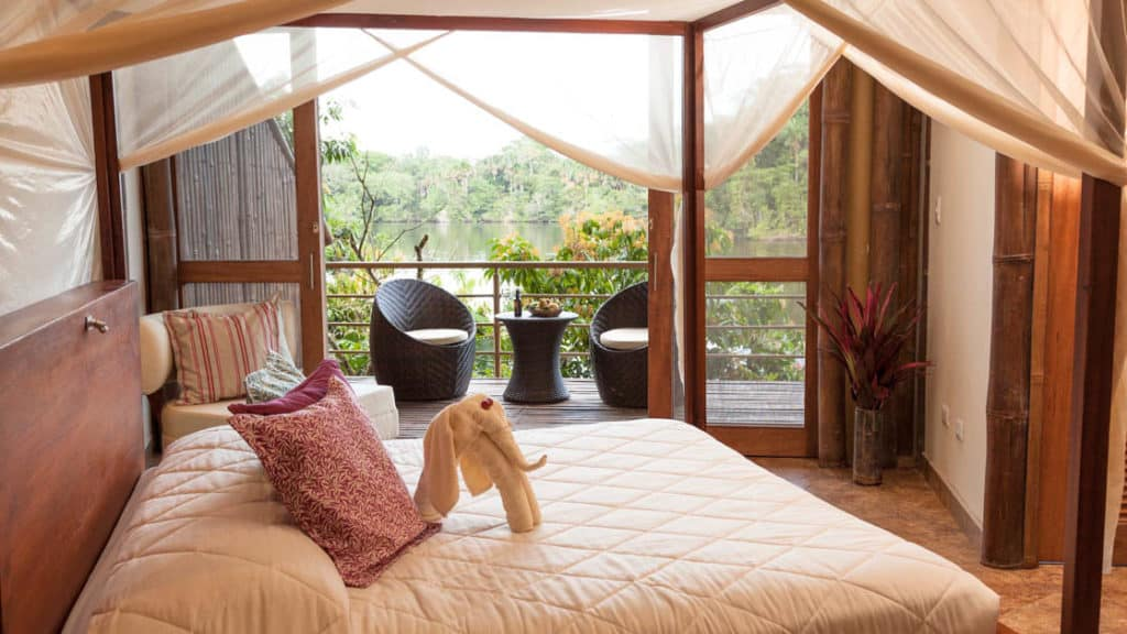 La Selva EcoLodge Scenic Suite with king bed
