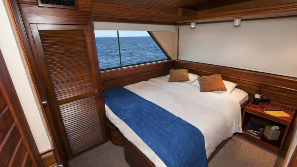 Booby deck cabin aboard the Letty