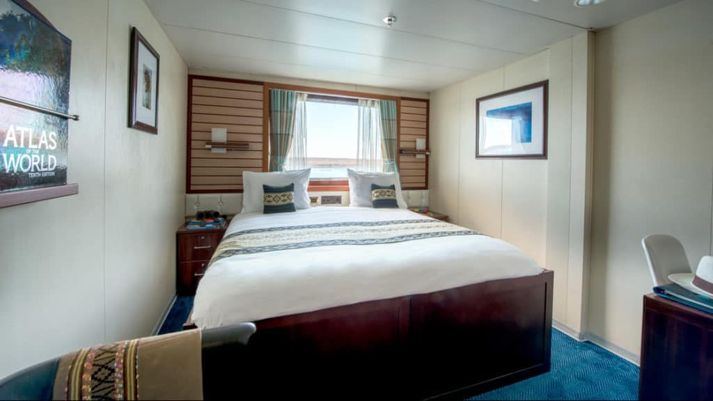 Colo cabin aboard National Geographic Endeavour II. Photo By: David Vargas