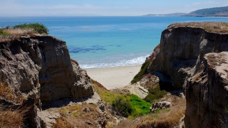 oceanside canyon seen on wild california escape: channel islands cruise
