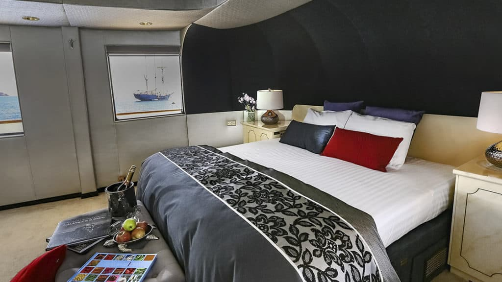 Master Suite aboard WildAid's Passion