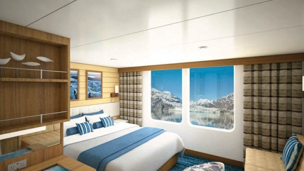 Category 5 triple cabin aboard National Geographic Quest small ship