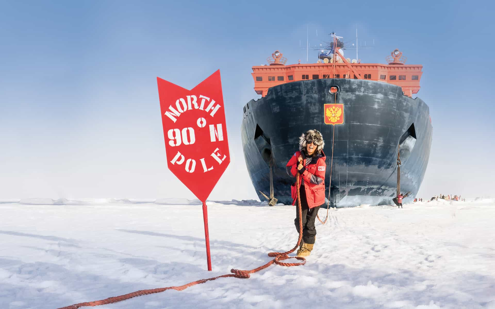 New Pioneer Travel >> North Pole: Top of the World Cruise | AdventureSmith ...