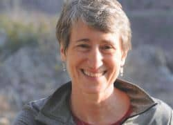 Speaker Sally Jewell at Camp Denali and North Face wilderness lodge in Alaska.
