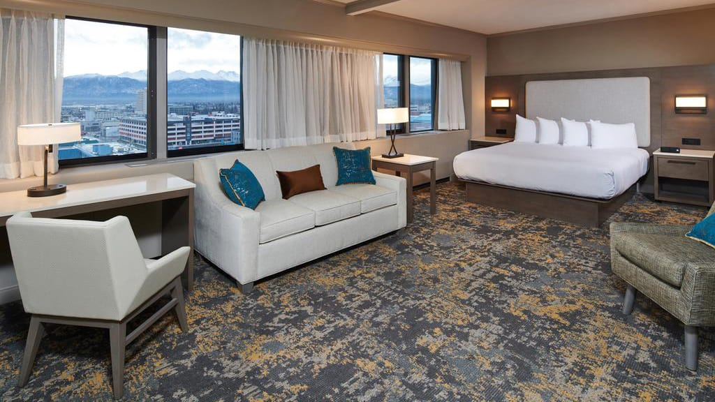Executive suite at Hilton Downtown Anchorage