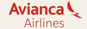 Galapagos flight airlines operator Avianca airlines logo